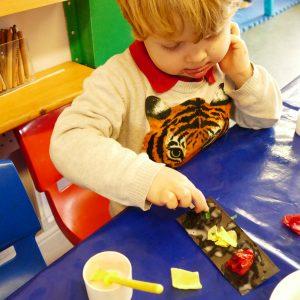 Arts & Crafts at Nursery